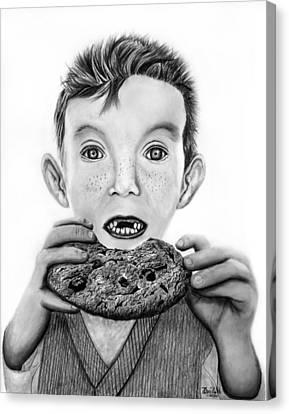 Cookie Surprise  Canvas Print by Peter Piatt