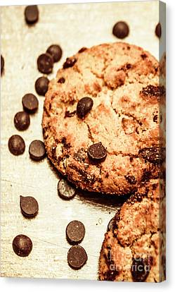 Cookies With Chocolare Chips Canvas Print by Jorgo Photography - Wall Art Gallery