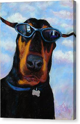 Cool Dob Canvas Print by Billie Colson