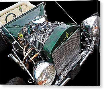 Cool Ford T Bucket Hot Rod Canvas Print by Gill Billington