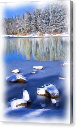 Cool Impression Canvas Print by Chris Brannen