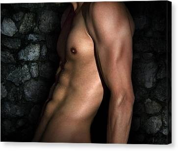 Cool Nude Canvas Print by Mark Ashkenazi