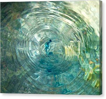 Cool Water Canvas Print by Betsy Knapp