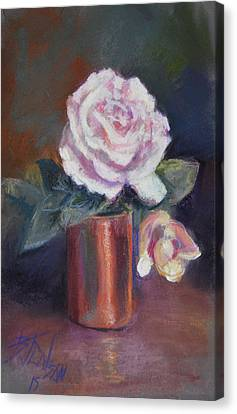 Copper And Rose Canvas Print by Billie Colson