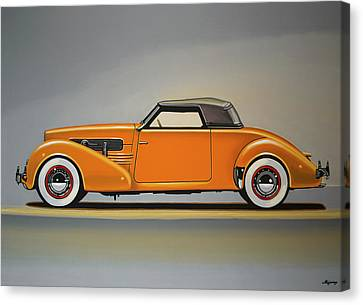 Cord 810 1937 Painting Canvas Print by Paul Meijering