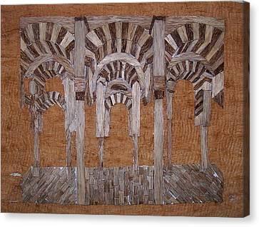 Cordoba Mezquita Canvas Print by Joedhi