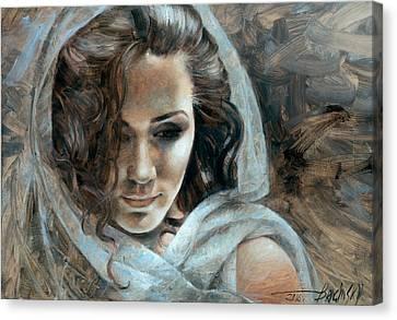 Cornelia Portrait2 Canvas Print by Arthur Braginsky