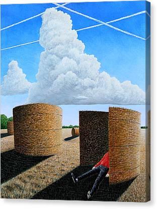 Cornfield Dreamer Canvas Print by Adrian Jones