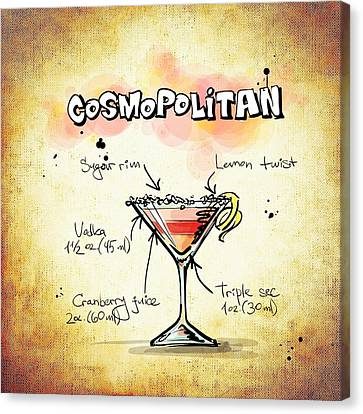 Cosmopolitan Canvas Print by Movie Poster Prints