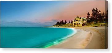 Cottesloe Beach Sunset Canvas Print by Az Jackson
