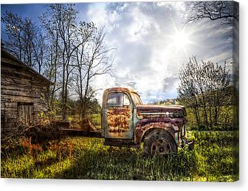 Country Afternoon Canvas Print by Debra and Dave Vanderlaan