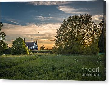 Country House Canvas Print by Amanda And Christopher Elwell