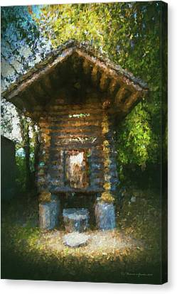 Country Storage Bin Canvas Print by Marvin Spates