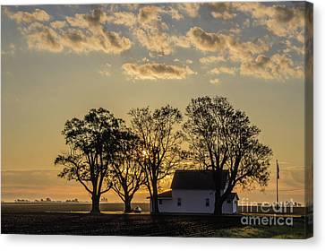 Country Time Legion Canvas Print by Doug Daniels