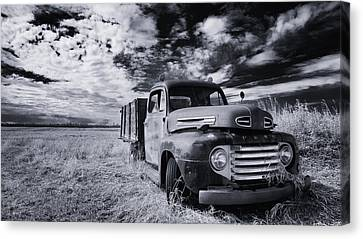 Country Truck Canvas Print by Ian MacDonald