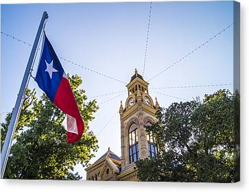 Courthouse, Llano, Texas Canvas Print by Craig David Morrison