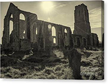 Covehithe Abbey Canvas Print by Svetlana Sewell