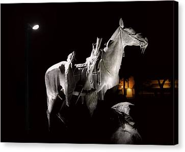 Cowboy At Rest Canvas Print by Christine Till
