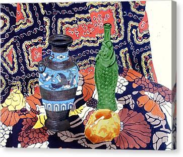 Cowboy Cloth Canvas Print by David Zimmerman