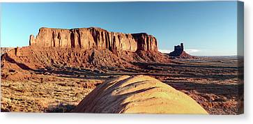 Cowboy Days Of The West Canvas Print by Paul Cannon