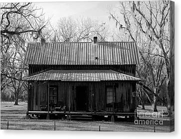 Cracker Cabin Canvas Print by David Lee Thompson