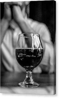 Craft Brew Canvas Print by Michael Flores