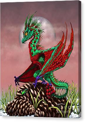 Cranberry Dragon Canvas Print by Stanley Morrison