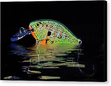 Crank Bait I Canvas Print by Tom Mc Nemar