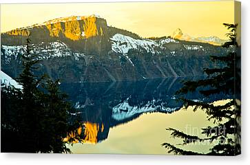 Crater Lake 7 Canvas Print by Nick  Boren