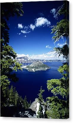 Crater Lake Canvas Print by Allan Seiden - Printscapes