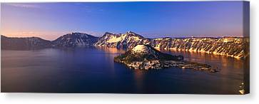 Crater Lake National Park, Oregon Canvas Print by Panoramic Images