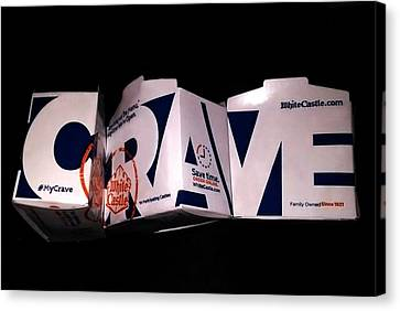 Crave Canvas Print by Bruce Lennon