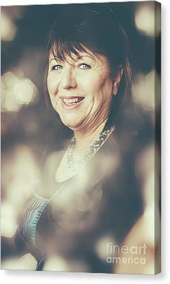 Creative Portrait Of A Middle-aged Business Woman Canvas Print by Jorgo Photography - Wall Art Gallery
