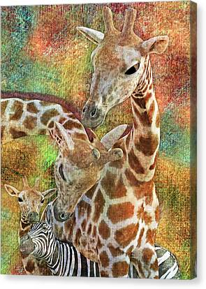 Creatures Great And Small Canvas Print by Betsy C Knapp