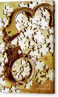 Criminal Affair Canvas Print by Jorgo Photography - Wall Art Gallery