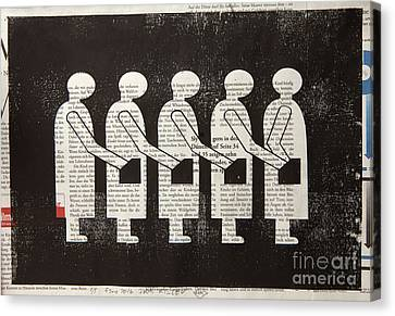 Criminal Chain Canvas Print by Igor Kislev
