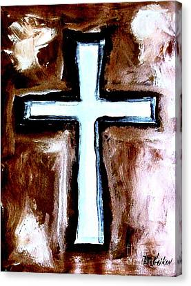Cross For Me Canvas Print by Marsha Heiken