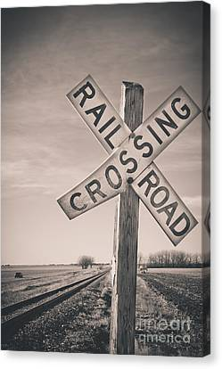 Crossings Canvas Print by Christina Klausen