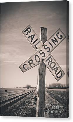 Crossings Canvas Print by Christina Klausen