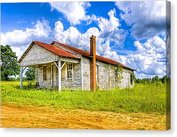 Crossroad Store - Rural Georgia Landscape Canvas Print by Mark Tisdale