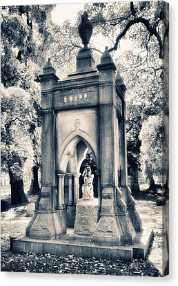 Crypt At Woodlawn II Canvas Print by Jessica Jenney