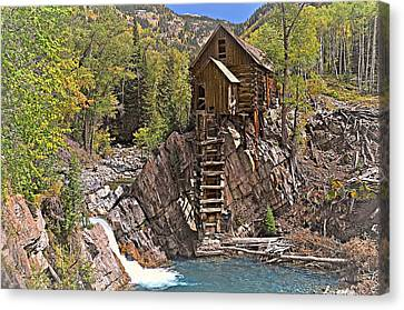 Crystal Mill 5 Canvas Print by Marty Koch