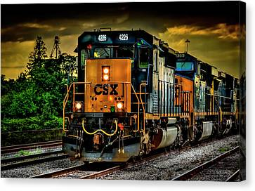 Csx 4226 Canvas Print by Marvin Spates