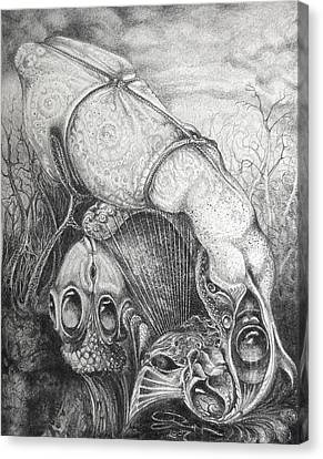 Ctulhu Seedpods Canvas Print by Otto Rapp