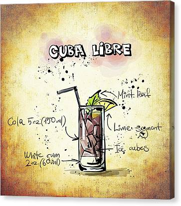 Cuba Libre Canvas Print by Movie Poster Prints