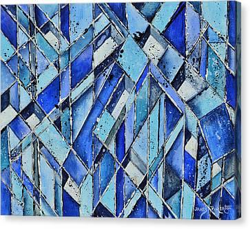 Cubicles Canvas Print by James Pinkerton
