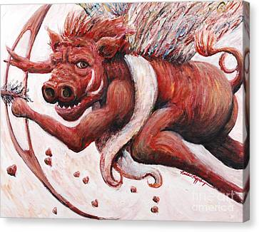 Cupig Canvas Print by Nadine Rippelmeyer