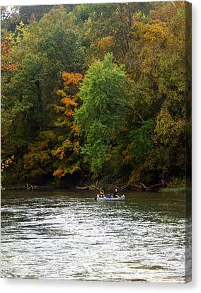 Current River 2 Canvas Print by Marty Koch