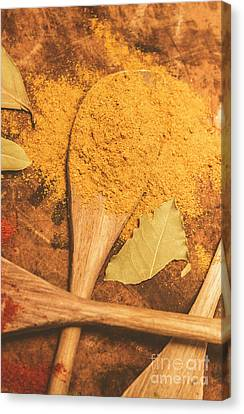 Curry Powder Spice Canvas Print by Jorgo Photography - Wall Art Gallery