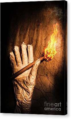Curse Of The Tomb Robber Canvas Print by Jorgo Photography - Wall Art Gallery